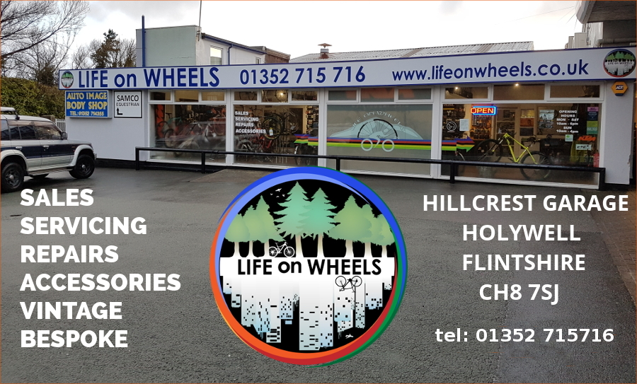 Life on Wheels Cycle Shop, Bike Repairs, Holywell, Flintshire. GoCycle Dealer.
