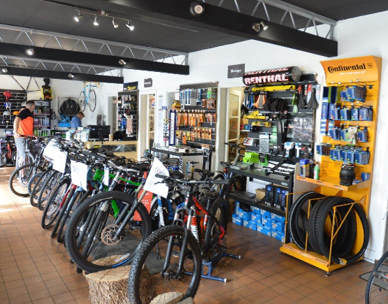Life on Wheels bike shop in Holywell