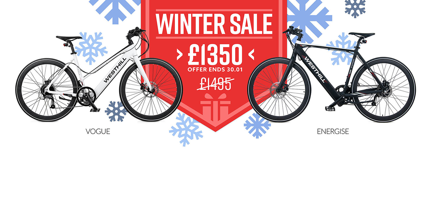 Ebike Winter Sale Life on Wheels